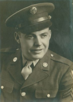 Austin S. Carter in uniform