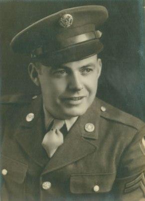 Austin S. Carter in uniform