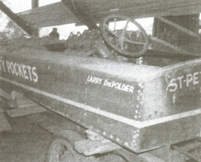 """Old Empty Pockets"" an E Class hydro-boat."